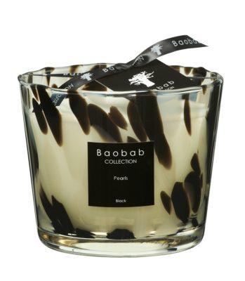 Baobab Max 10 Black Pearl Candle