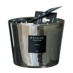 Baobab Max 10 Platinum Candle