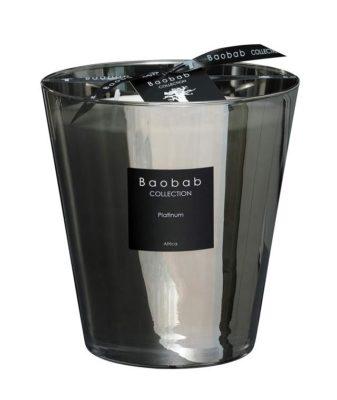 Baobab Max 16 Platinum Candle
