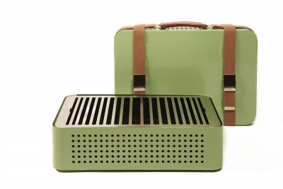 Mon Oncle Portable Barbecue Light Green