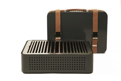 Mon Oncle Portable Barbecue Grey