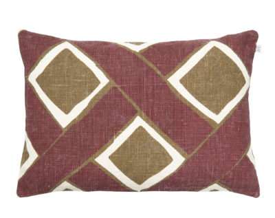 Bali Ruby Dark Oak Cushion