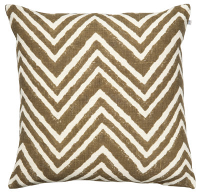 Chevron Dark Oak Cushion