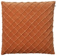 Deva Orange Velvet Cushion