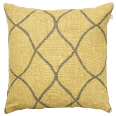 Tara-Spicy-Yellow-Grey Cushion