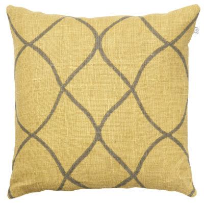 Tara-Spicy-Yellow-Grey Cushion