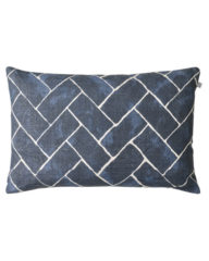 Jay (Blue) Linen Cushion
