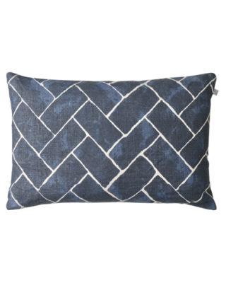 Jay (Blue) Linen Cushion
