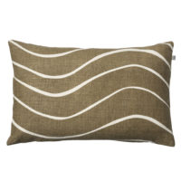 Dark Oak Gaya Linen Cushion