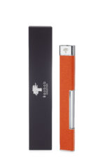 Baobab Orange Serpient Leather Candle Lighter